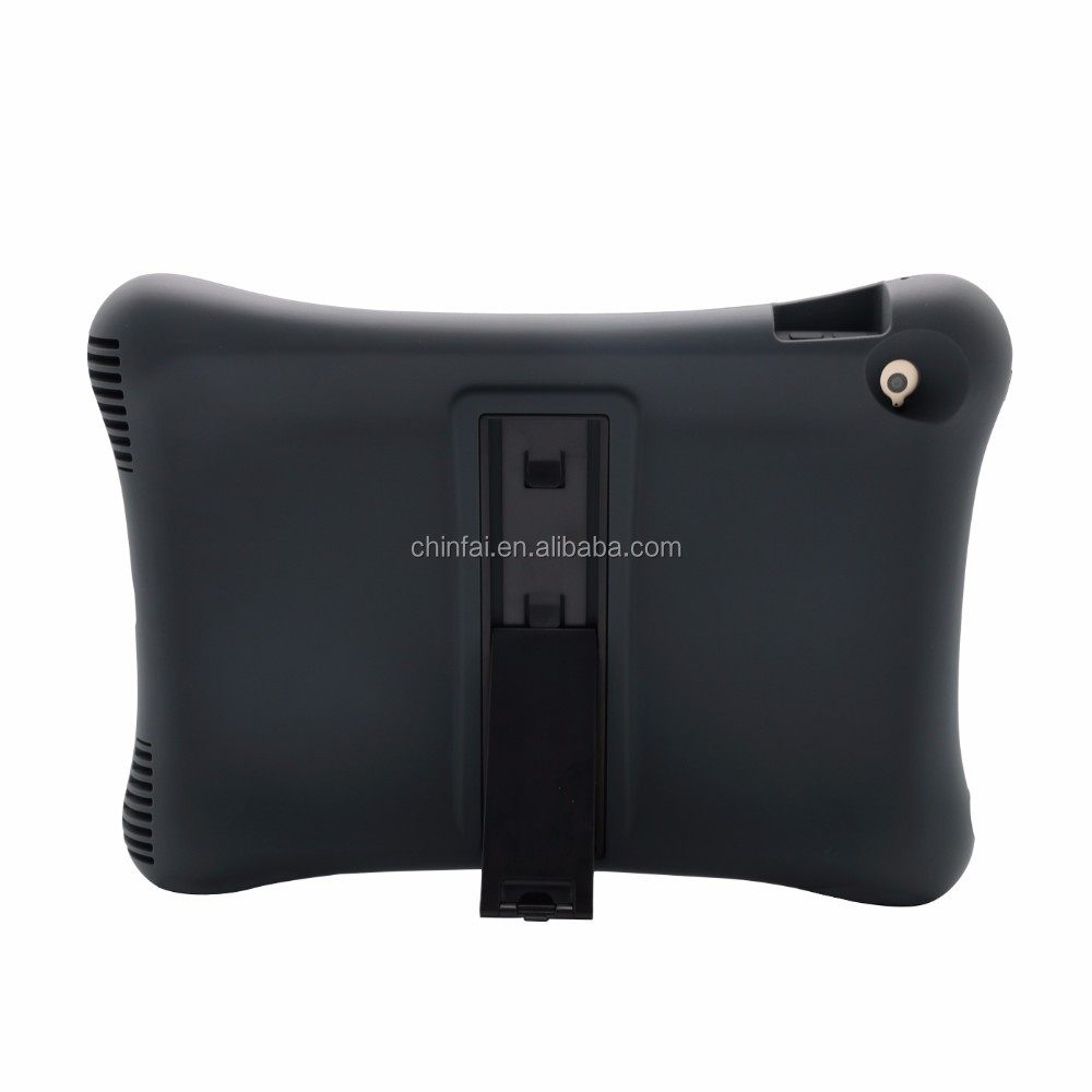 all round shockproof tablet case for ipad air 2 black back