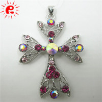 Metal charms pendant alloy flower charms jewelry accessories for handbag design