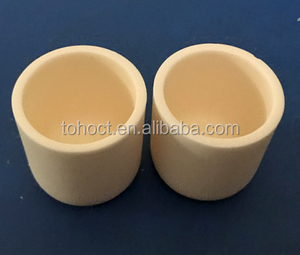 Fine quality industrial ceramic crucibles