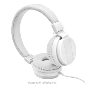 Factory wholesale price Foldable wired headphone for America market computer headset with invisible mic