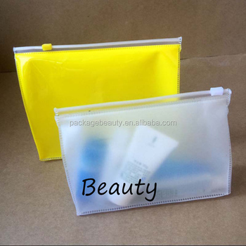 Oem Vinyl Plastic Eva Cosmetic Zipper Bag With Customizd Design Reach Standard