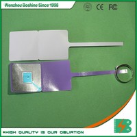Boshine Free Sample Provided RF Jewelry Soft Label,Anti-theft EAS RF Jewelry Protect Tag for Shopping Mall