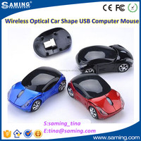 Wireless Car Mouse 1000dpi USB 2.4G for promotional items