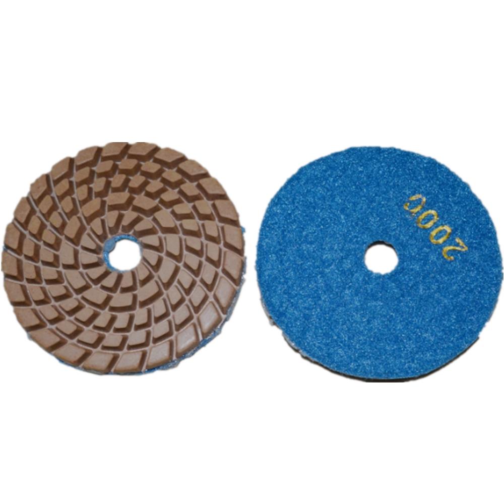 Trockenbeton-Polierpad-Maschine für Marmor