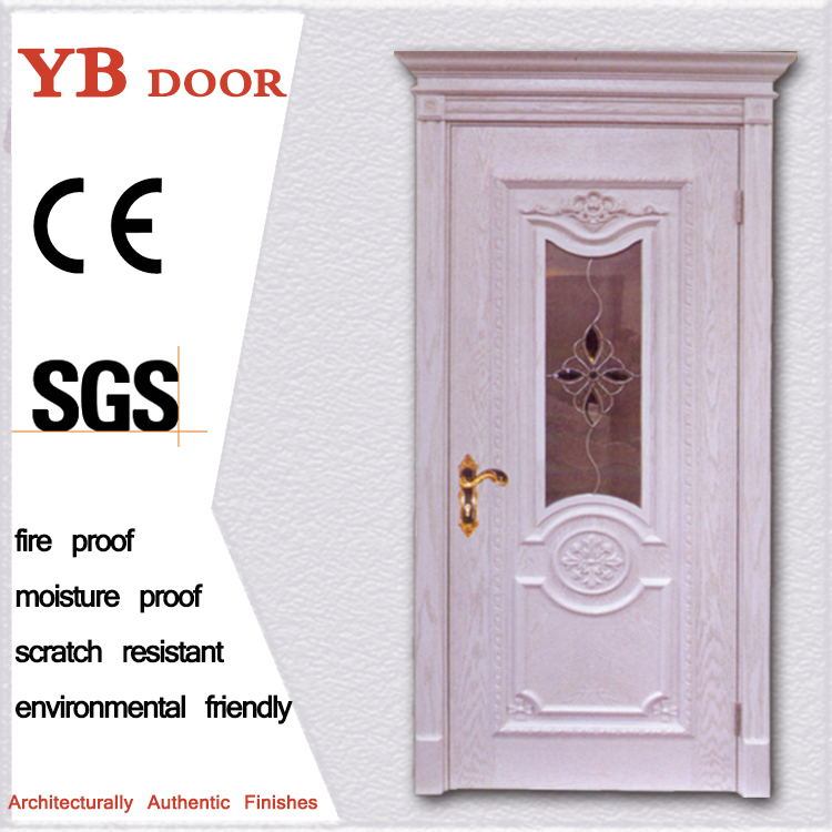 china suppliers 8 panel house interior design solid wooden doors for bedroom karachi YBVD 6162
