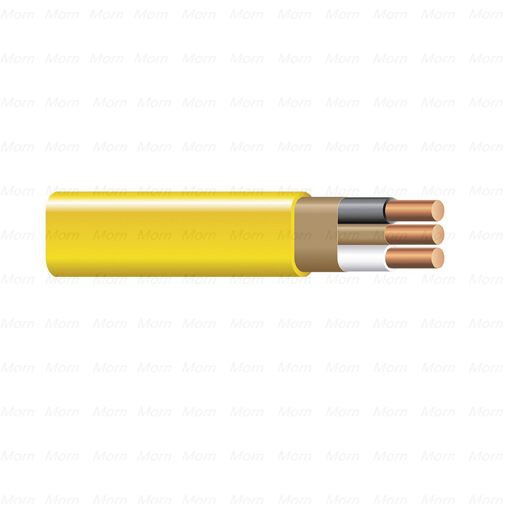 UL 719 NM Cable (Flat) 600 Voltage Copper Conductors PVC Insulation with Nylon Jacket Nonmetallic-Sheathed Cable