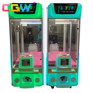 CGW happy house claw crane game machine,high quality popular electronic crane claw machine,hydraulic claw crane