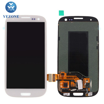 Competitive Price LCD Screen Touch Digitizer Assembly For Samsung S3 gt-i9300 LCD Display