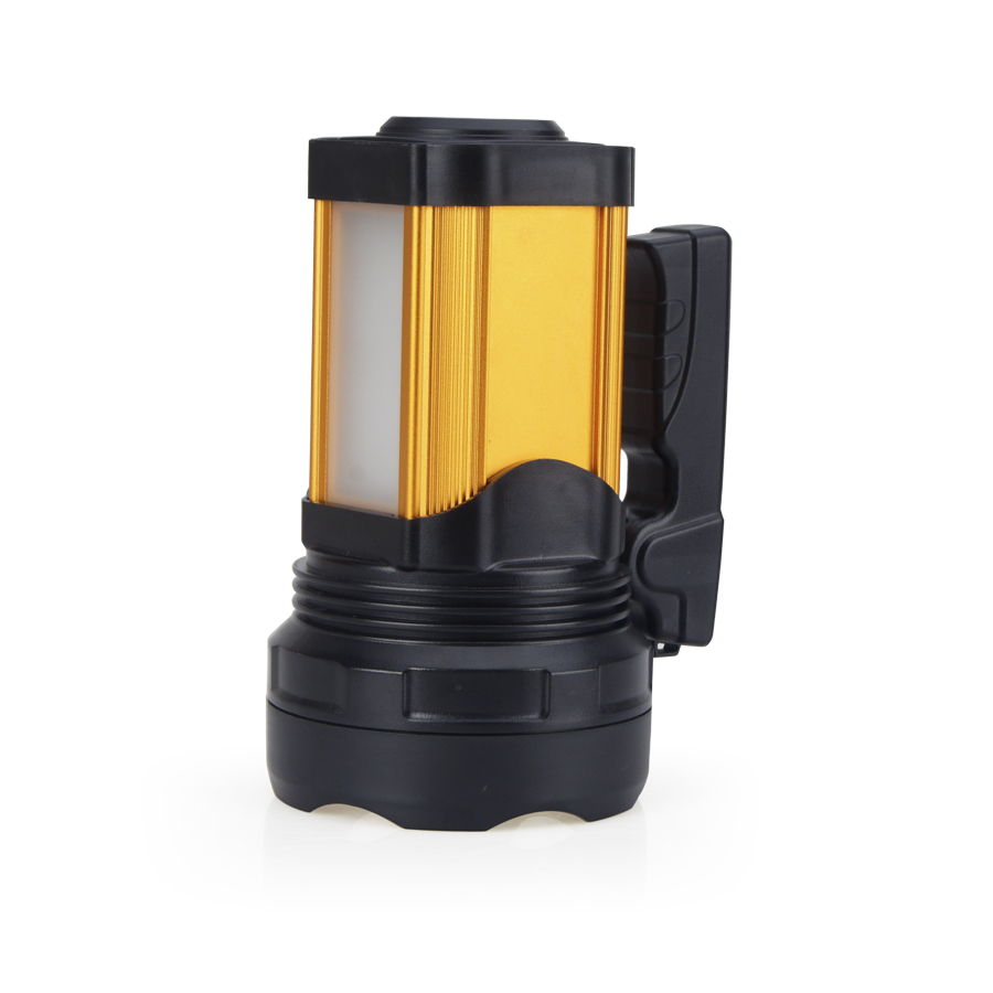 China manufacturers flashlight USB charging interface aluminum alloy CREE 15W LED handheld searching spotlight JG-A398