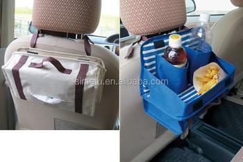 Auto Rugleuning Tafel,Kinderen Autostoel Organizer,Auto Tafel Voor