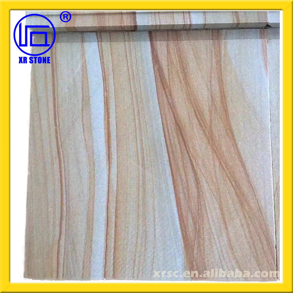 natural stones of yellow wood sandstone