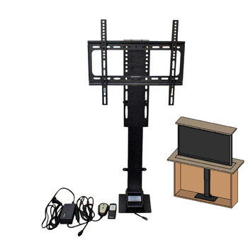 57inch TV Lift  Electric LCD TV Lift 900mm stroke with wireless  remote controller  have stock