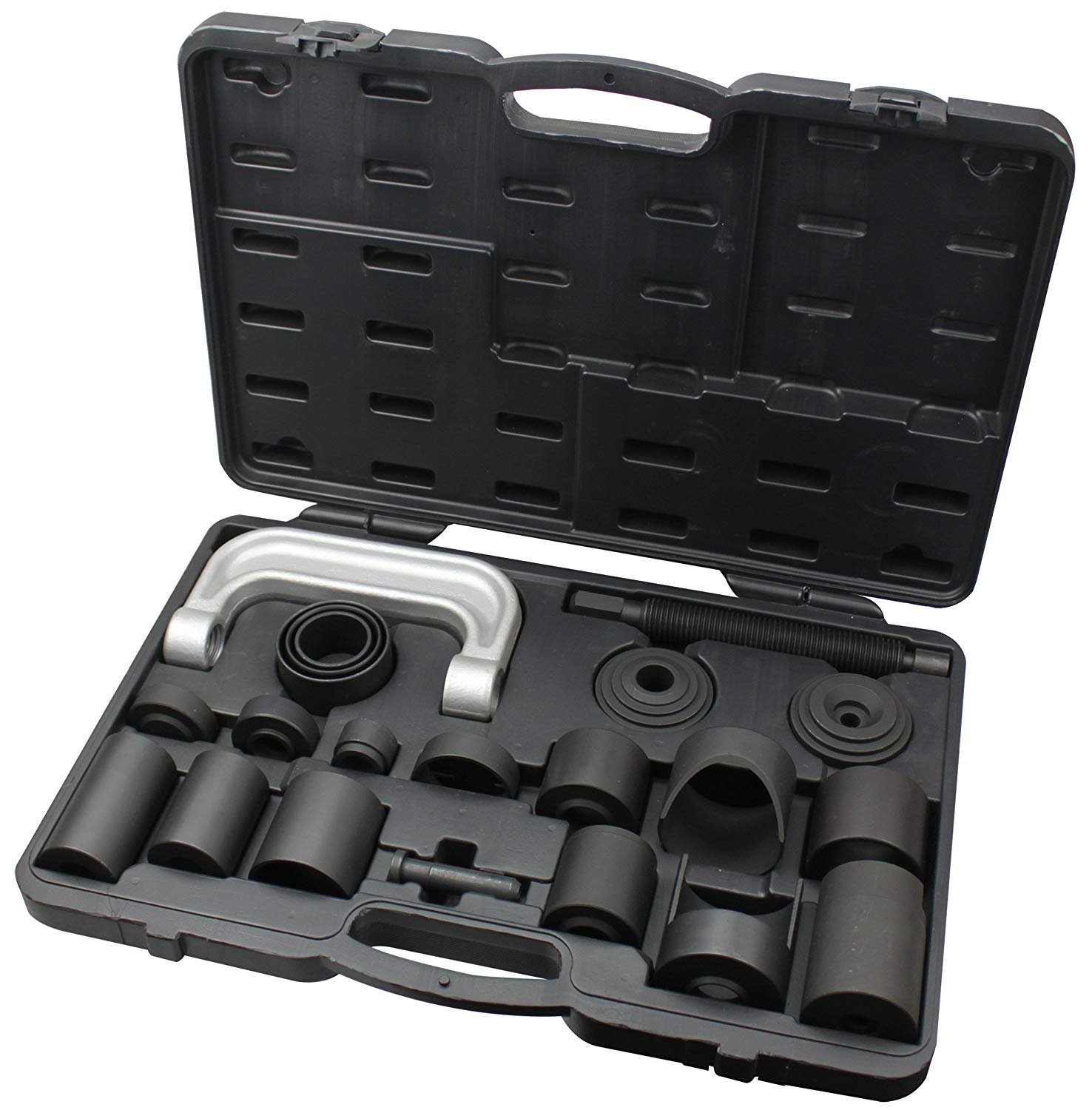 Kauplus Master Ball Joint / U-Joint Service Tool Set - 21 Piece Ball Joint, U-Joint and Brake Anchor Pin Service Kit