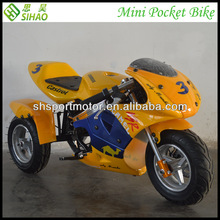 Electric 350w 500w 36v Mini Pocket Bike Kids Motorcycle