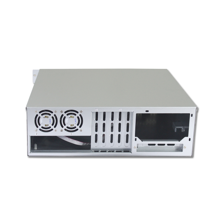 ED308H40 enterprise NAS server with lock panel ultrashort case ATX CASE