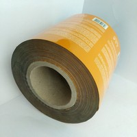 double-sided adhesive thermal transfer sticker label