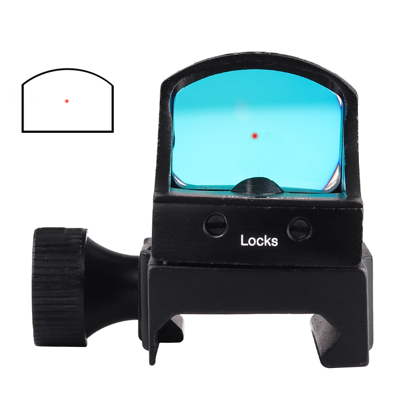 HD107R 3MOA Mini Red Dot Rifle Scope Tactical Riflescope For Pistol Glock AR15 Holographic Sight Optics Hunting Scopes