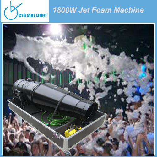 Adult or Kids Parties Big Foam Machine / 1800w High Output Foam Machine For Night Club
