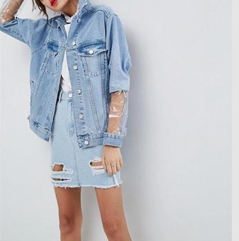 3a0e41a44eef New arrival 100% cotton women denim jacket custom jean jacket wholesale  China