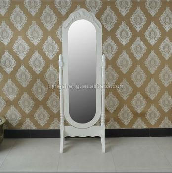 Modelos Vestindo O Espelho Do Vintage Montar Facilmente Para O Quarto Livre De Pé Espelho De Madeira Espelho Decorativo Estilo Europeu Buy Espelho