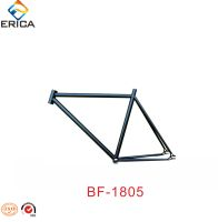OEM High Quality Fixed Gear / Road Bike Parts Cheap Black 700C Carbon Steel Bike Frame