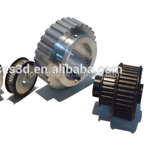 Chinese Injection molded nonstandard small plastic timing pulleys