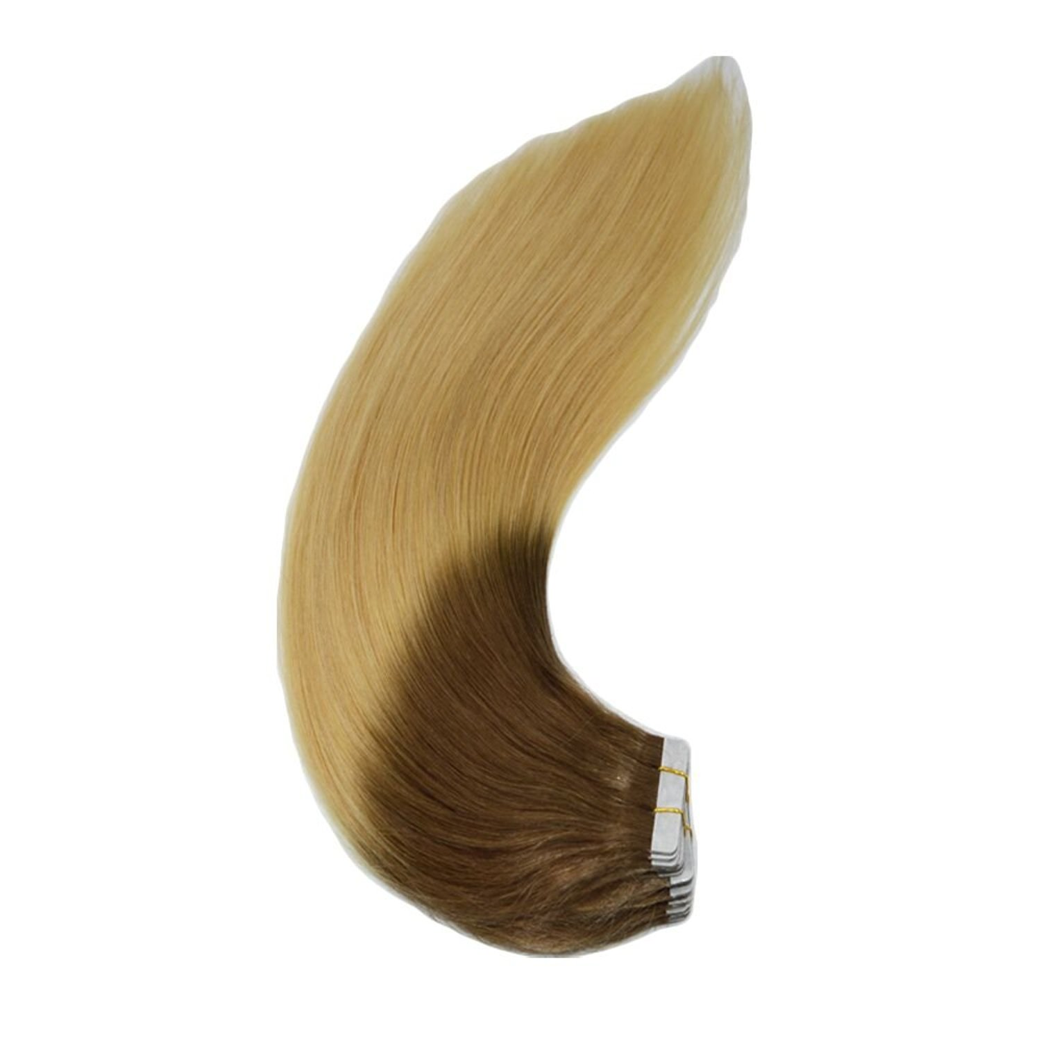"""14""""-24"""" 20pcs/50g Skin Weft Ombre Hair Extension Fusion Tape In Hair Extension"""