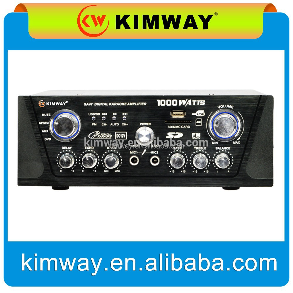 supply all kinds of stereo mixing amplifier