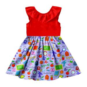 Importers fashion designer back to school kid dress