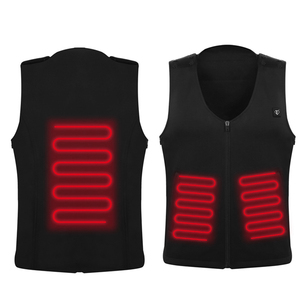 OEM Machine washable carbon fiber heating mens vest