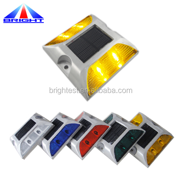 Roadway Safety Motorway 3m Reflector Aluminium Led Deck Dock Pathway Light Cat Eyes Solar Road Stud