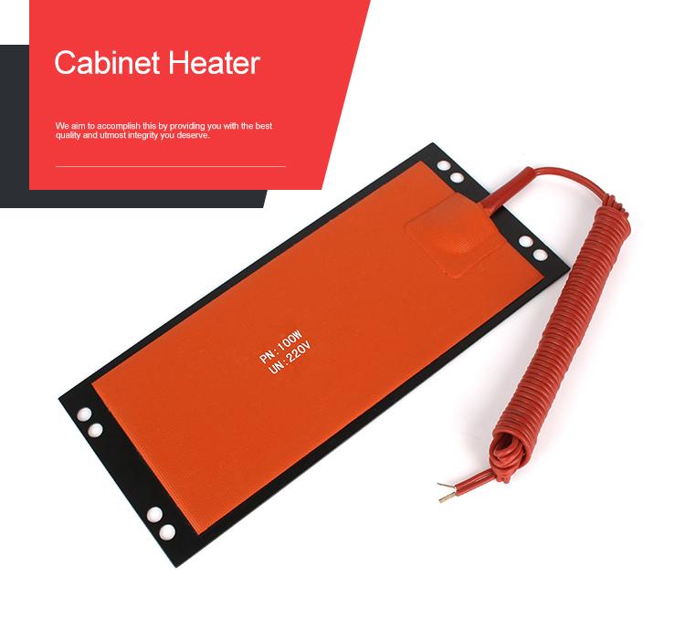 Odvlhčovač elektrického topného tělesa ze silikonové pryže pro komunikační skříně