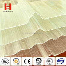 A JWH-2 Greenhouse Corrugated FRP Skylight Roof Panel Fiberglass Roofing Sheets