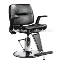 Black Hair Cut Professional Hydraulic Styling Chair Beauty Salon Equipment