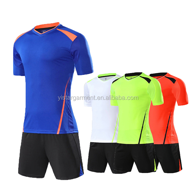 Alibaba.com / New model Wholesale sublimated blank jersey soccer football shirt