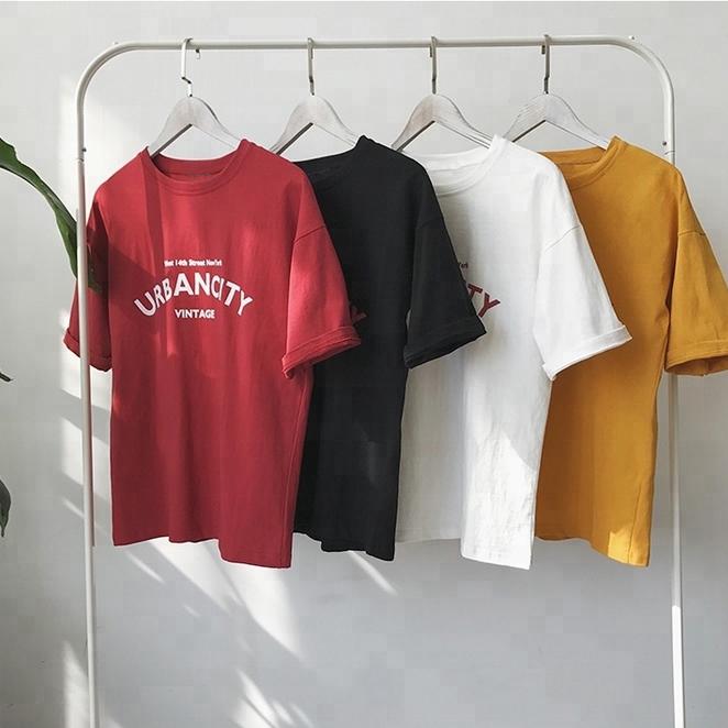 Custom print 100%cotton short sleeve round neck men's plain blank white cotton t shirts фото