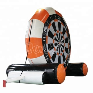 New Hot Sale OEM Soccer darts ,CE Factory Price Inflatable Soccer Darts Game, Outdoor Inflatable Soccer Darts Toys