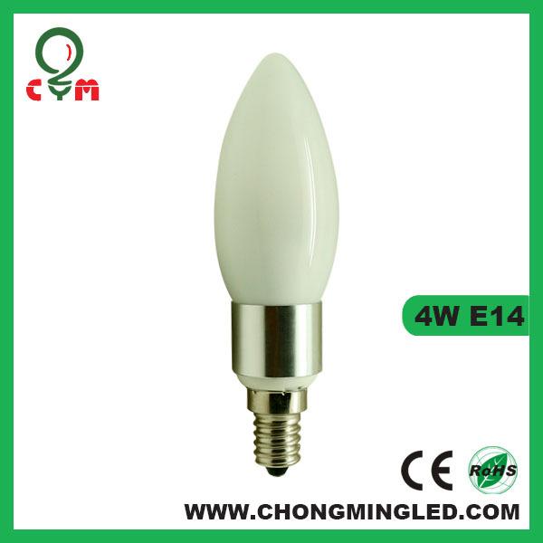 Ul Cul Listed 0-10v Dimmable 4w E12 (candelabra) Led Candle Bulb ...