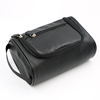 Factory Price Travel Toiletry bags Men's Cosmetic Bags Vintage Leather Wash Bags with High Quality