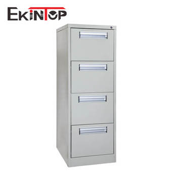 Ekintop custom metal office stainless steel 4 drawer file storage cabinet for office furniture