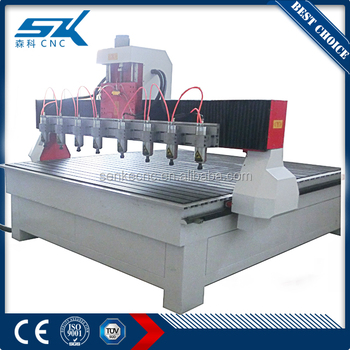 Multi Spindle Cnc Router Wood Carving Machine Price Mdf Cutting Machine Price 4 Axis Woodworking For Furniture 3d Cnc Router Buy 3d Cnc Router Multi