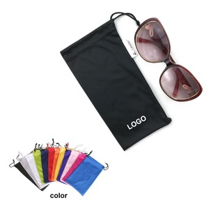 custom soft microfiber sunglass pouch, glasses pouch for sale