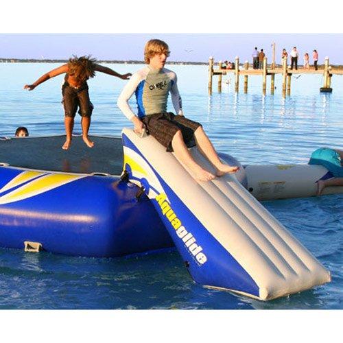 Aquaglide Platinum Rebound 12 Foot Bouncer Slide Water Trampoline Attachment 2015