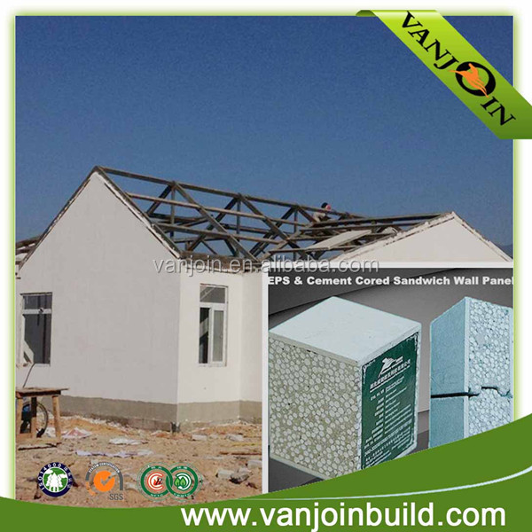 Low Cost New Type Building Material Sandwich Wall Panels