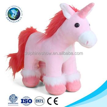Large Pink Unicorn Plush Toy For Kids Wholesale Promotional Gift