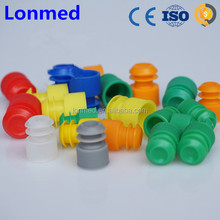 Various colors plastic test tube stopper for sale