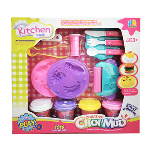Wholesale Dough Factory Mould Plasticine Art Creative Gift Kitchen serie Playset Toy