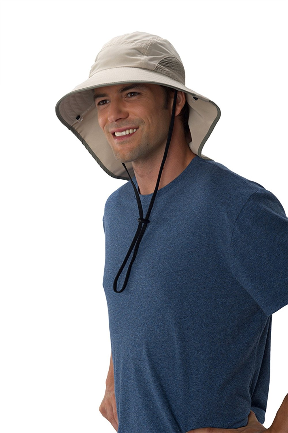 3be8b49daffe3 Get Quotations · Sun Protection Zone Unisex Lightweight Adjustable Outdoor  Floppy Sun Hat (100 SPF