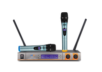 Hot sale UHF pll wireless professional microphone with two channel BK23