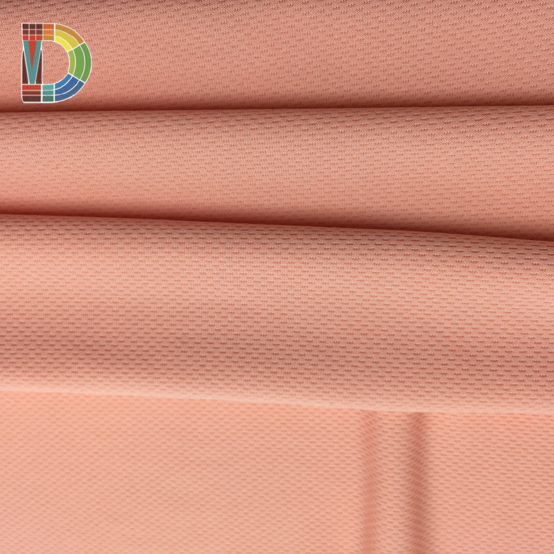 Hot 92 polyester 8 spandex eyes breathable mesh fabrics in dongguan